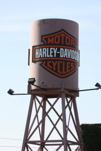 Photo Credit: Richard Trus - Harley Davidson Water Tower.